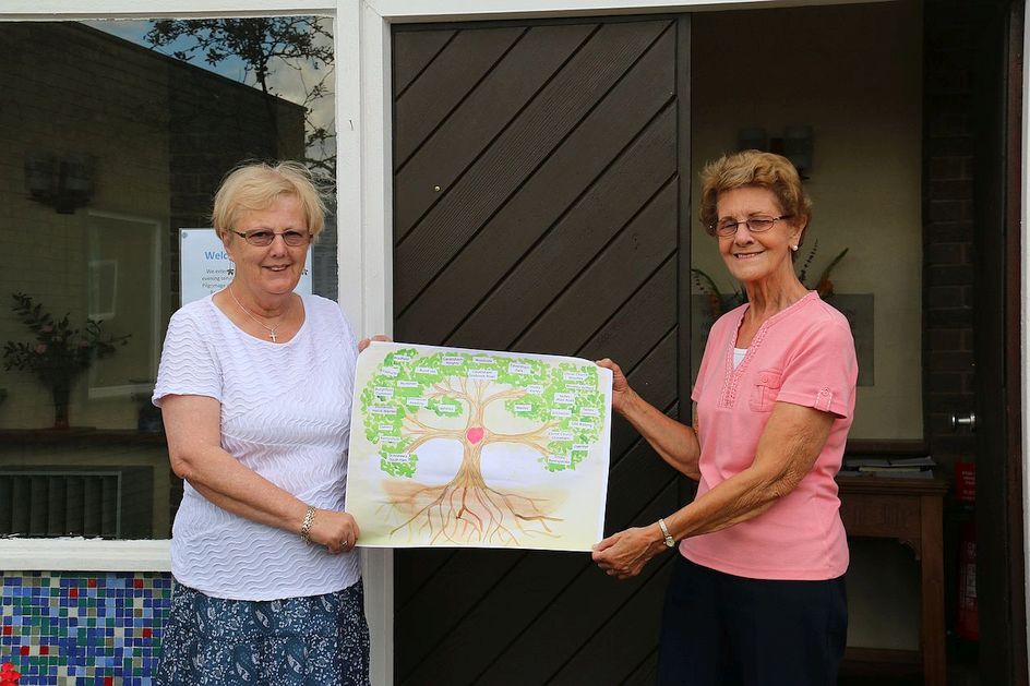 Pilgrimage Day 2 The Circuit Tree at Tadley Common Methodist Church