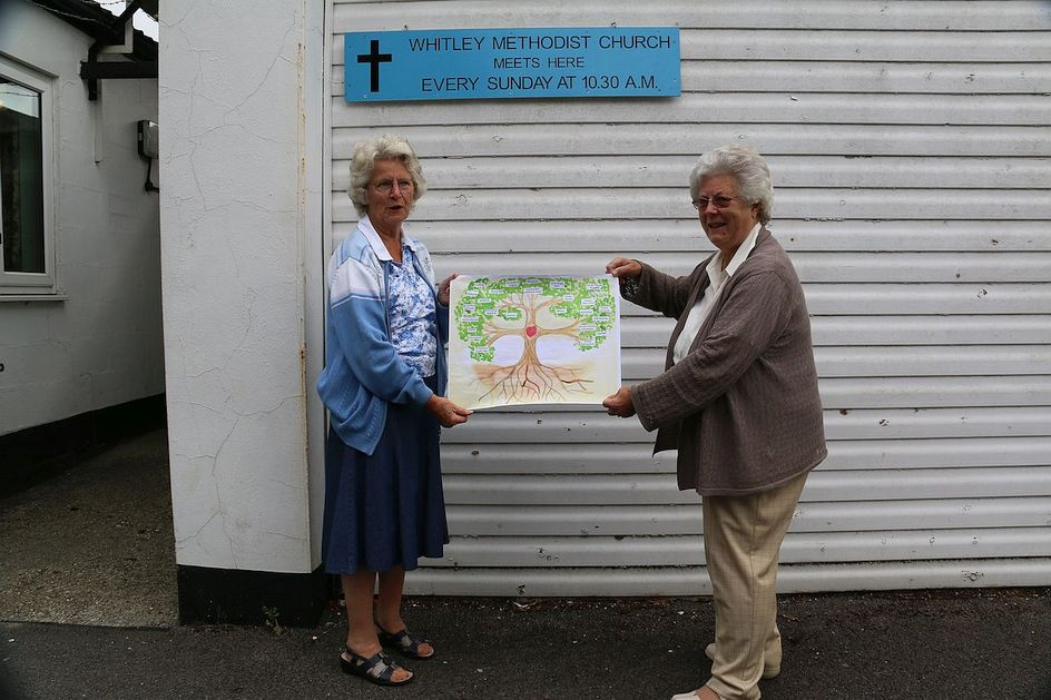 Pilgrimage Day 7 The Circuit Tree has moved on to Whitley Methodist Church - coffee time