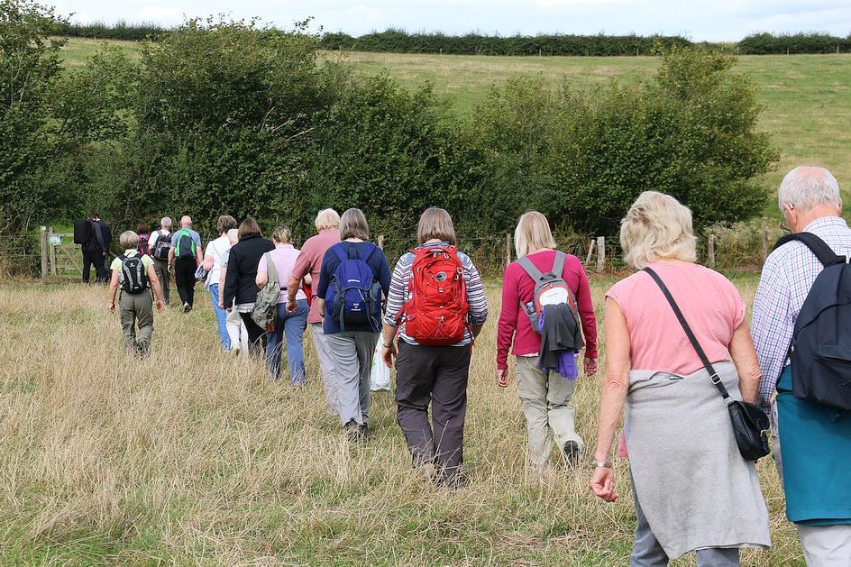 Pilgrimage Day 9 More new pilgrims for this last day of the walks