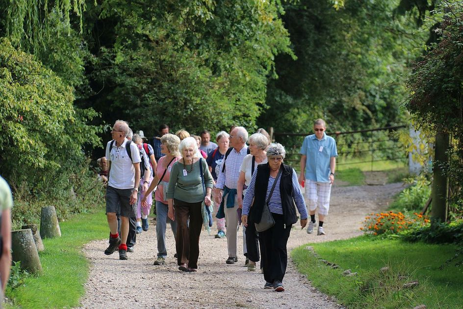 Pilgrimage Day 9 Near the old Roman town of Calleva heading towards Mortimer